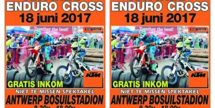 Antwerp EnduroCross 18 Juni '17