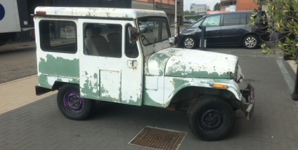 DJ-5 Postal Jeep