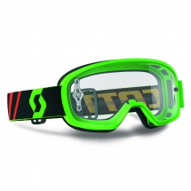 SCOTT GOGGLE BUZZ MX FLUO GREEN CLEAR WORKS
