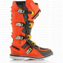 Acerbis X-Move 2.0 boots - Orange Fluo/Black Size 45