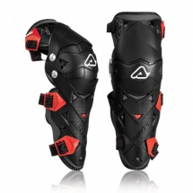 ACER. IMPACT EVO 3.0 KNEE GUARDS - Black/Red