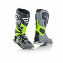 Acerbis X-Rock boots - Grey/Yellow Fluo