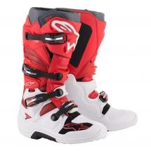 Alpinestars Tech 7 White/Red BURG - Size 47