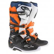 Alpinestars Tech 7 Black/Orange/white/Blue
