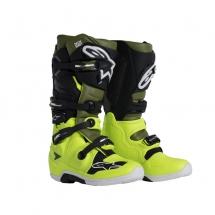 Alpinestars Tech 7 Yellow/Millitary Green/Black - Size 45.5