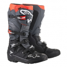 Alpinestars Tech 7 Enduro Black/Grey/Red Fluo