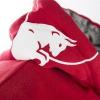 KINI-RB CREST HOODIE RED / GREY