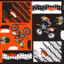 Team Graphic Sticker Sheet