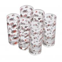 BOOSTER DRINK GLAS SET 6PCS