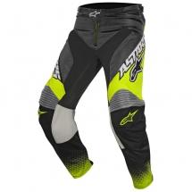 2017 Alpinestars Racer Supermatic Pants - Anthracite Yellow Fluo Light Grey