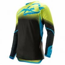 2017 Acerbis MX X-Flex Jersey - Black-Yellow