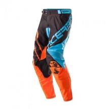 2017 Acerbis X-Gear Pants - blue-fluo orange