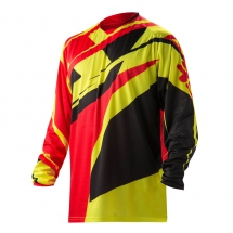 2017 Acerbis MX-Profile Jersey - red/fluo yellow