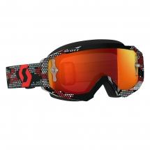 SCOTT HUSTLE MX GOGGLE black/red / orange