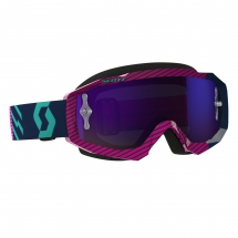 SCOTT HUSTLE MX GOGGLE blue/pink / purple