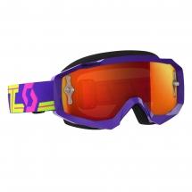 SCOTT HUSTLE MX GOGGLE purple/yellow / orange
