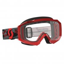 SCOTT HUSTLE MX ENDURO GOGGLE red/black / clear