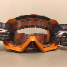 PROGRIP 3218 GOGGLES WITH ROLL OFF ORANGE