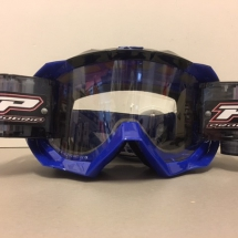 PROGRIP 3218 GOGGLES WITH ROLL OFF BLUE