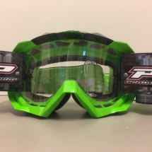 PROGRIP 3218 GOGGLES WITH ROLL OFF GREEN