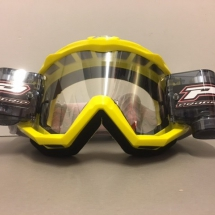 PROGRIP 3208 GOGGLES WITH ROLL OFF YELLOW